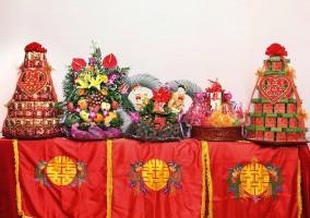 Lễ Ăn Hỏi 5 tráp Rồng Phượng